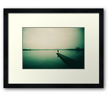 A december morning Framed Print