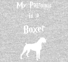 My Patronus is a Boxer One Piece - Long Sleeve