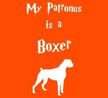 My Patronus is a Boxer Kids Tee