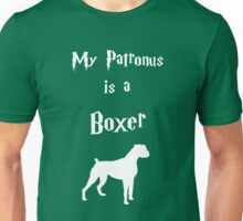 My Patronus is a Boxer Unisex T-Shirt