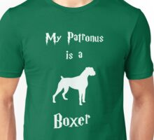 My Patronus is a Boxer (Different Layout) Unisex T-Shirt