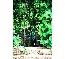 Garden Chair Photographic Print