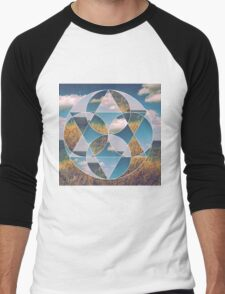 Kaleidoscopic field Men's Baseball ¾ T-Shirt