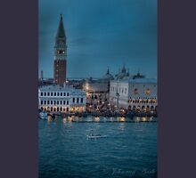 (see large)        ...Venice at night .... Unisex T-Shirt