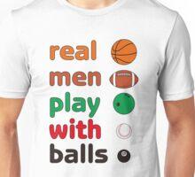 Funny REAL MEN T-shirt Unisex T-Shirt