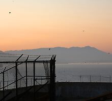 Alcatraz at sunset by KelseyClaire11