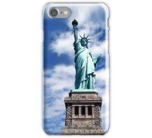 Lady Liberty Blue Skies iPhone Case/Skin