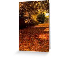 Autumns Carpet Greeting Card