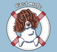 Springer Spaniel :: First Mate by offleashart