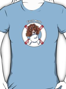 Springer Spaniel :: First Mate T-Shirt