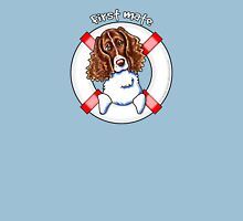 Springer Spaniel :: First Mate Womens Fitted T-Shirt