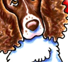 Springer Spaniel :: First Mate Sticker