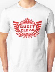 MONSTER HUNTER 4 - QUEST CLEAR Unisex T-Shirt