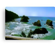 Harris Beach Oregon Canvas Print