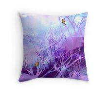 Winter of Our Discontent Throw Pillow