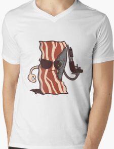 Baconator Mens V-Neck T-Shirt