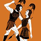 The Tragic Tale of Achilles and Penthesilea by Philliplight
