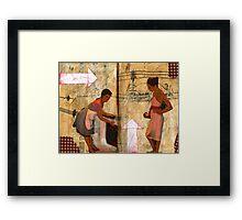 AlteredBook12 #15 Framed Print