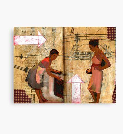 AlteredBook12 #15 Canvas Print