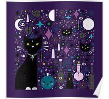 Halloween Kittens  Poster