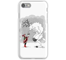 Boy and Yeti Cover iPhone Case/Skin
