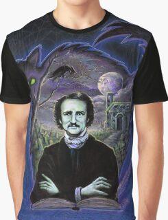 Edgar Allan Poe Gothic Graphic T-Shirt