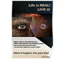 live your dreams! Poster