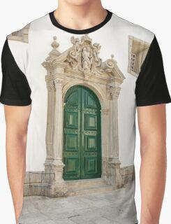 Capela das Malheiras side door Graphic T-Shirt