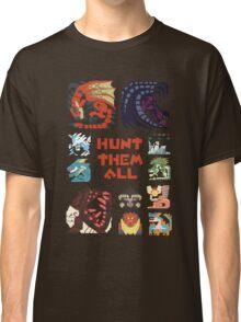 MONSTER HUNTER 4 - HUNT THEM ALL Classic T-Shirt