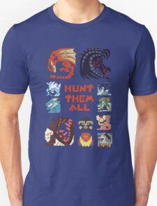 MONSTER HUNTER 4 - HUNT THEM ALL T-Shirt