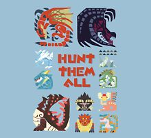 MONSTER HUNTER 4 - HUNT THEM ALL Unisex T-Shirt