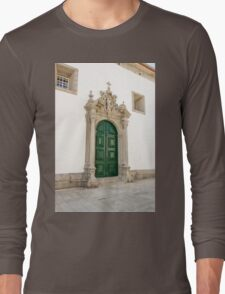 Capela das Malheiras side door Long Sleeve T-Shirt