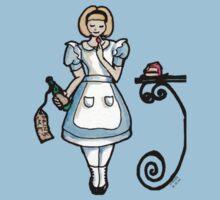 Alice One Piece - Short Sleeve