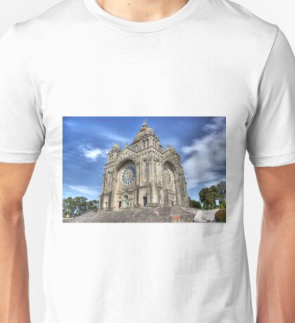 Saint Luzia's Basilica - Revisited T-Shirt