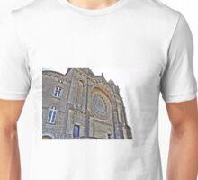 Saint Luzia's Basilica - Rear view perspective Unisex T-Shirt
