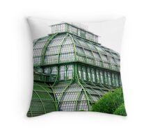 Schönbrunn Botanical Gardens Throw Pillow