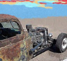 Rusty Hot Rod by elvis2