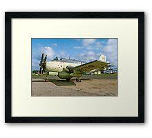 Fairey Gannet AEW.3 XL502 G-BMYP at Biggin Hill Framed Print