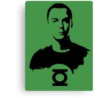 Sheldon  Green Lantern Canvas Print