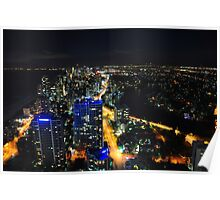 Gold Coast (Night view) Poster