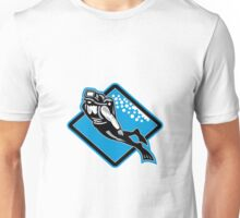 Scuba Diver Diving Retro Unisex T-Shirt