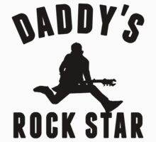 Daddy's Rock Star One Piece - Short Sleeve