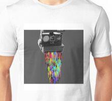Camera Spill Unisex T-Shirt