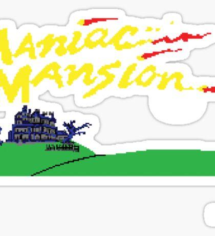 Maniac Mansion C64 Sticker