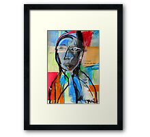 time to grow Framed Print