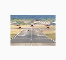 The Red Arrows Depart From Farnborough 2015 Unisex T-Shirt