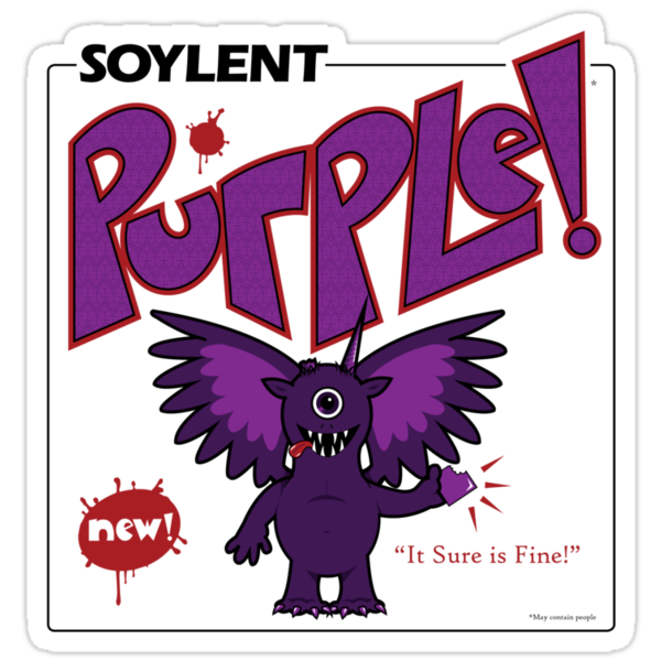 Soylent Purple by cloudshadow
