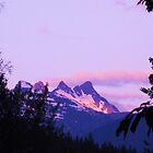 Mountain Sunrise by Coleen Gudbranson