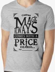 Magic always comes with a price... Mens V-Neck T-Shirt