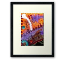 Viewing the Fireworks by the Side of the Road Framed Print